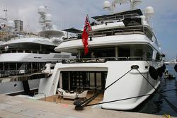 boat of Vijay Mallya Force India F1 Team Owner