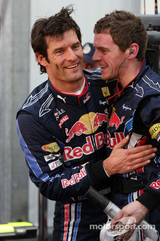 Mark Webber, Red Bull Racing, viert pole