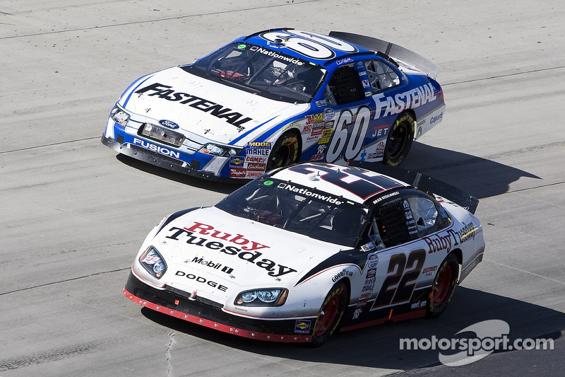 Carl Edwards en Brad Keselowski