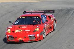 #62 Risi Competizione Ferrari F430 GT: Jaime Melo, Gianmaria Bruni