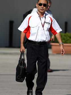 Hiroshi Yasukawa Bridgestone Director of Motorsport