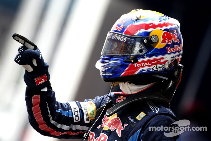 Polepositie Mark Webber, Red Bull Racing