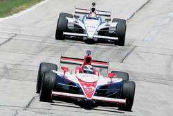 Vitor Meira, A.J. Foyt Enterprises, Hideki Mutoh, Newman/Haas Racing