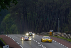 #4 Team Oreca Matmut Peugeot 908: Olivier Panis, Nicolas Lapierre, Loic Duval, #64 Corvette Racing Chevrolet Corvette C6 ZRL: Oliver Gavin, Olivier Beretta, Emmanuel Collard