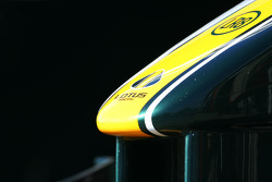 Lotus F1 Team front wing detail