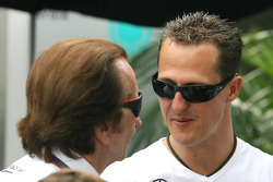 Emerson Fittipaldi et Michael Schumacher, Mercedes GP