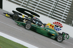 Takuma Sato, KV Racing Technology & Tomas Scheckter, Dreyer & Reinbold Racing