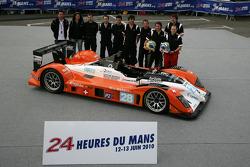 #28 Race Performance Radical SR9 Judd: Marc Rostan, Ralph Meichtry, Pierre Bruneau