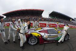 #70 Marc VDS Racing Team Ford GT on starting grid