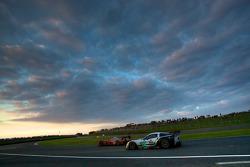 #15 Kolles Audi R10: Christian Bakkerud, Oliver Jarvis, Christophe Bouchut, #72 Luc Alphand Aventures Corvette C6.R: Stephan Gregoire, Jérôme Policand, David Hart