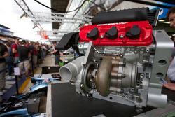 2,6-Liter-Turbomotor von Honda für LMP1