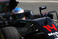 Fernando Alonso, McLaren MP4-31 on track