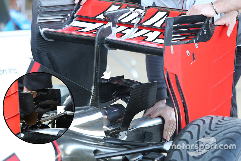 Haas F1 Team VF-16, Monkey-Seat