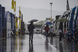 Дощ в паддоку в Муджело