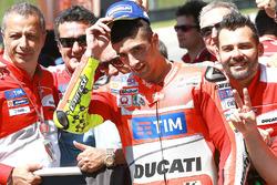 Tercer lugar Andrea Iannone, Ducati Team