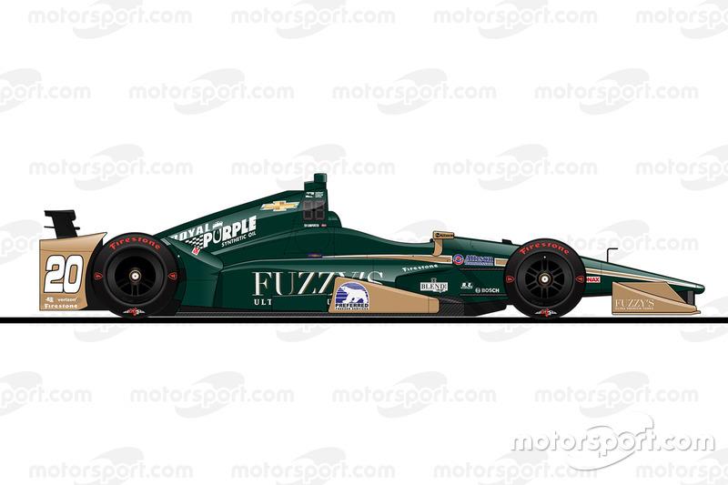 Startposition 20: Ed Carpenter (Carpenter-Chevrolet)