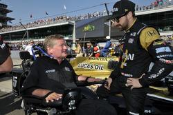 James Hinchcliffe, Schmidt Peterson Motorsports, Honda mit Sam Schmidt