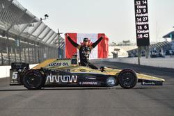 James Hinchcliffe, Schmidt Peterson Motorsports Honda pole winner