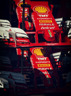 Ferrari SF16-H front wings