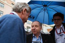 Jean Todt, FIA-Präsident, und Carlos Sainz