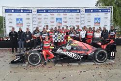 Racewinnaar Sébastien Bourdais, KV Racing Technology Chevrolet