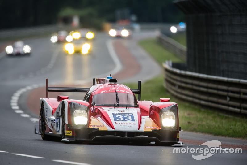 19: ORECA 05 Nissan команды Eurasia Motorsport (№33): Юнь Джин Пу, Ник де Брейн, Тристан Гомменди
