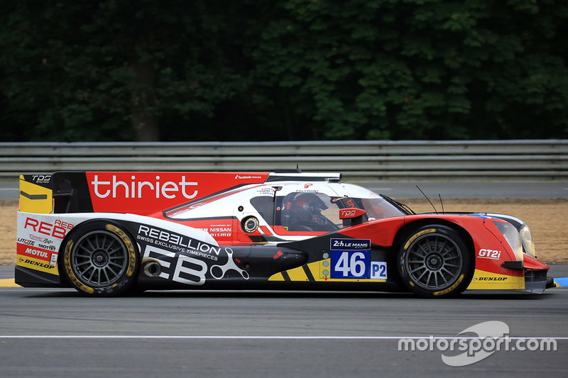 15: #46 Thiriet by TDS Racing Oreca 05 Nissan: Pierre Thiriet, Mathias Beche, Ryo Hirakawa