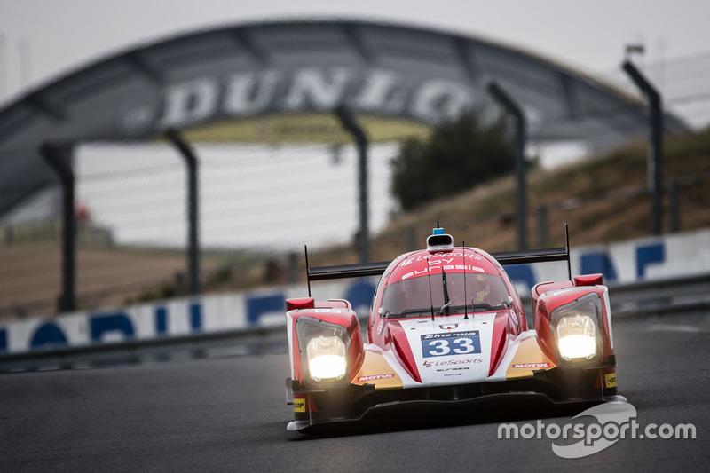 LMP2: #33 Eurasia Motorsport, Oreca 05 Nissan