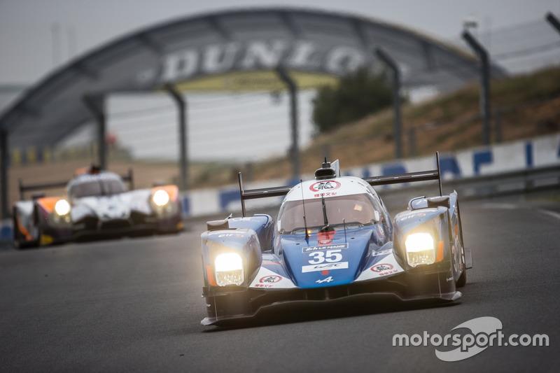 LMP2: #35 Baxi DC Racing, Alpine A460 Nissan