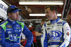 Ricky Stenhouse Jr., Roush Fenway Racing, Ford; Trevor Bayne, Roush Fenway Racing, Ford