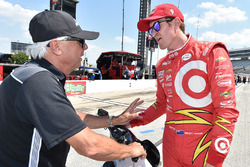 Scott Dixon, Chip Ganassi Racing Chevrolet with Rick Mears