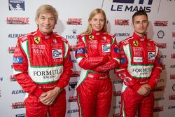 #60 Formula Racing Ferrari 458 Italia: Джонні Лаурсен, Крістіна Нільсен, Міккель Мак