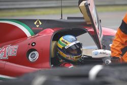 Choque del #43 RGR Sport by Morand Ligier JSP2 Nissan: Bruno Senna