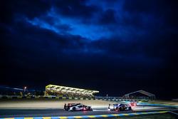 #41 Greaves Motorsport Ligier JSP2 Nissan : Memo Rojas, Julien Canal, Nathanaël Berthon, et #1 Porsche Team Porsche 919 Hybrid : Timo Bernhard, Mark Webber, Brendon Hartley