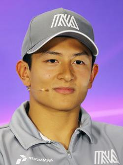 Rio Haryanto, Manor Racing in the FIA Press Conference
