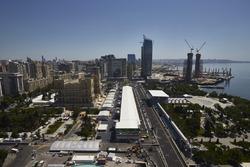 Атмосфера на трассе в Баку