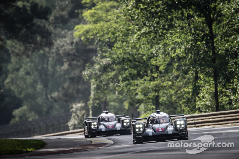 3. #1 Porsche Team Porsche 919 Hybrid: Timo Bernhard, Mark Webber, Brendon Hartley