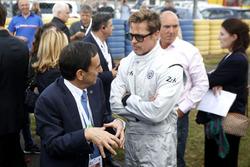 Brad Bitt y Pierre Fillon, Presidente de la ACO