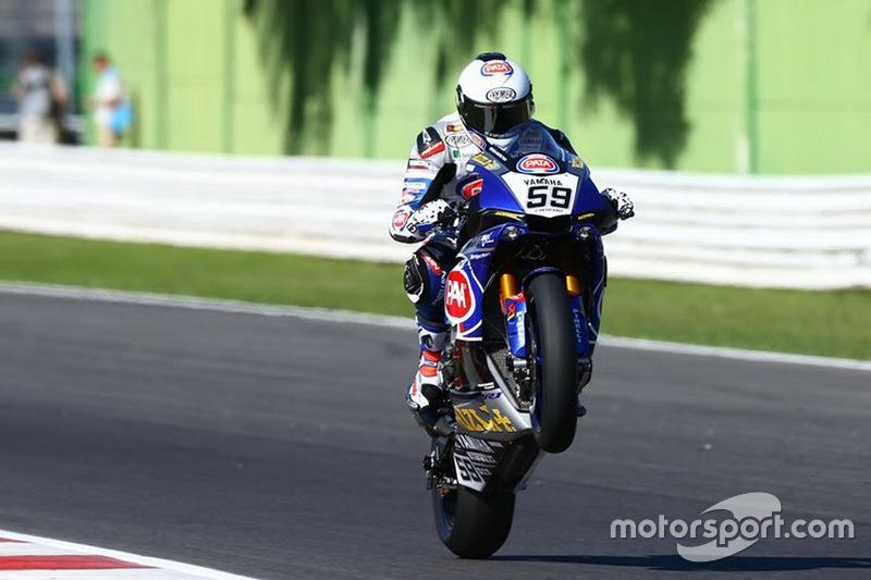 Niccolo Canepa Pata Yamaha Official WorldSBK Team