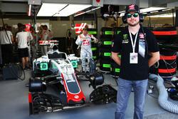 Kurt Busch, NASCAR Driver with the Haas F1 Team