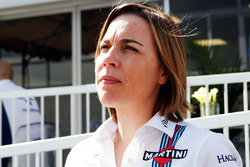 Claire Williams, Team Principal Williams