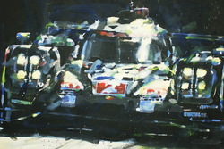 Le Mans 24 Saat galipleri #2 Porsche Team Porsche 919 Hybrid: Marc Lieb, Romain Dumas, Neel Jani