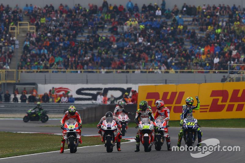 Andrea Iannone, Ducati Team, Scott Redding, Pramac Racing, Cal Crutchlow, Team LCR Honda, Andrea Dovizioso, Ducati Team, Valentino Rossi, Yamaha Factory Racing