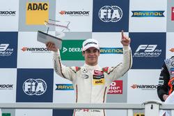 Подиум - Лэнс Стролл, Prema Powerteam Dallara F312 - Mercedes-Benz