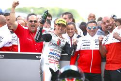 Il vincitore Francesco Bagnaia, Aspar Team Mahindra
