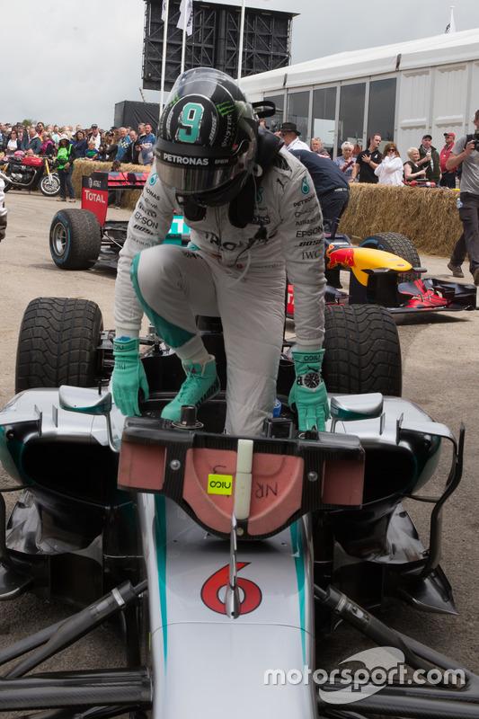 Nico Rosberg - Mercedes Petronas F1