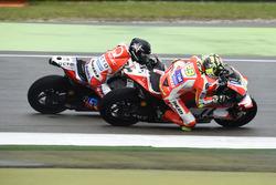 Andrea Iannone, Ducati Team y Scott Redding, Pramac Racing