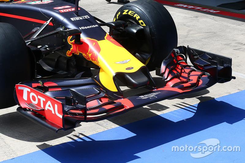 L'aileron avant de Red Bull Racing