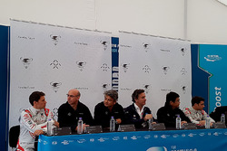 Press Conference with Loic Duval, Dragon Racing