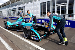 The car of Nelson Piquet Jr., NEXTEV TCR Formula E Team
